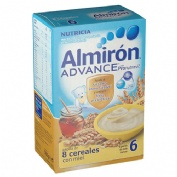 Almiron 8 cereales con miel advance (500 g)