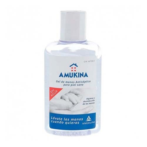 Amukina gel de manos antiseptico (80 ml)